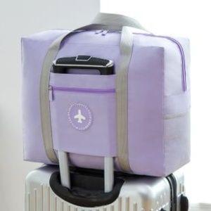 Handbags - NEW Oxford Cloth Travel Luggage Bag (Purple)